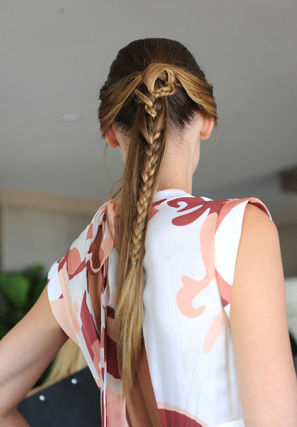 Braids at Rachel Zoe NYFW SS15