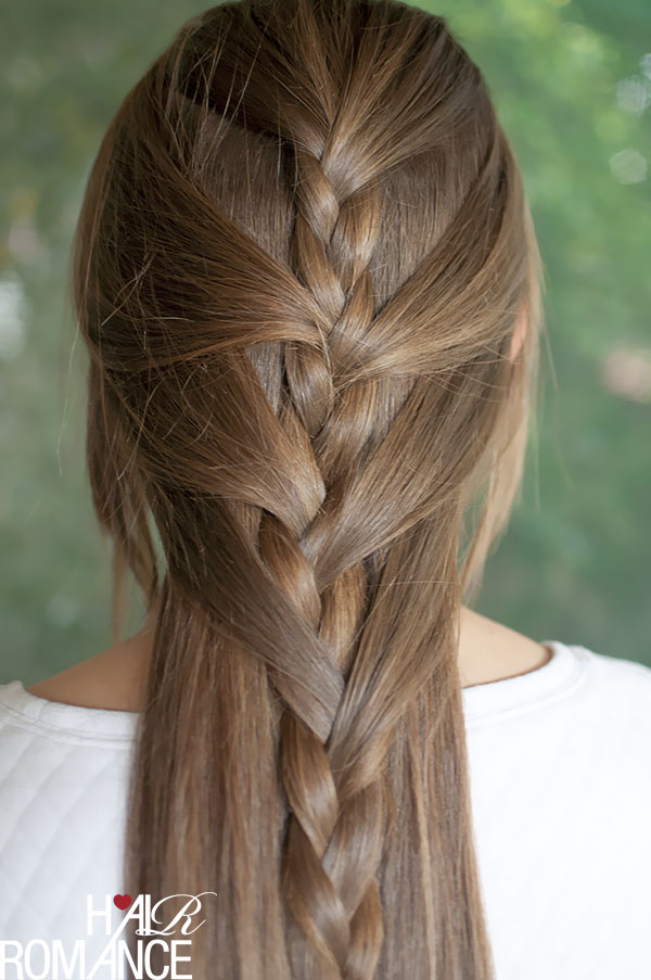 Swept Away Try This Sweeping Half French Braid Tutorial Hair Romance