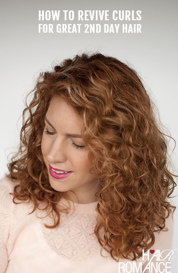 Hair Romance - How to revive curls for great second day hair