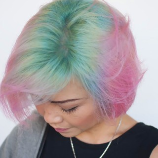 Short Cut Saturday – Unicorn hair