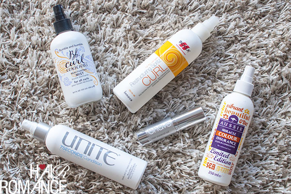 Hair Romance - Products to revive curls for great second day hair