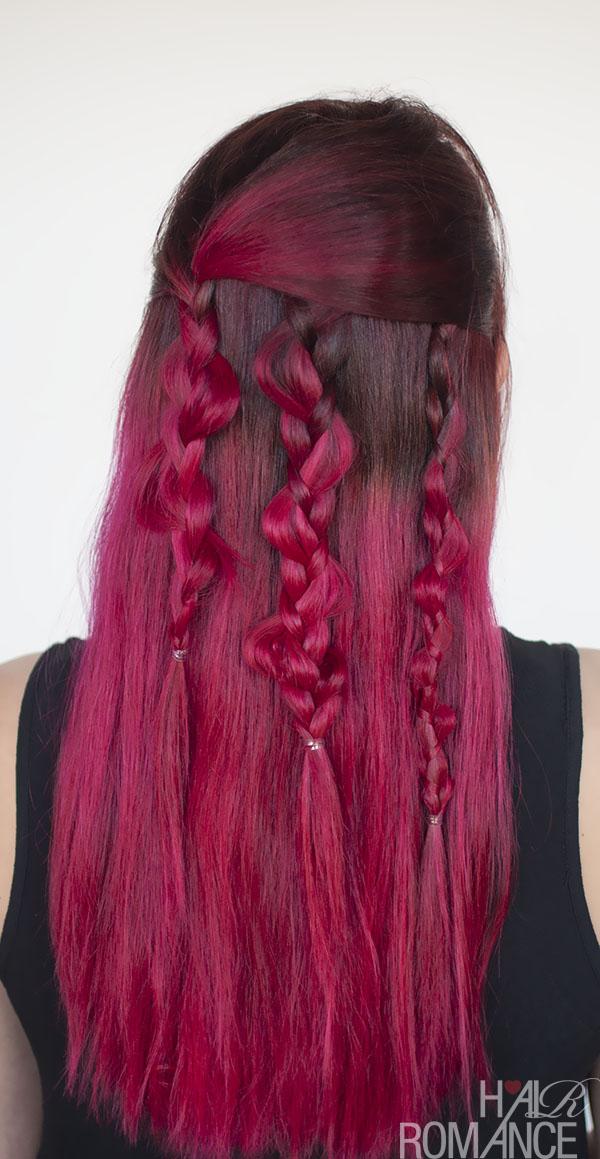Hair Romance - boho braids how to