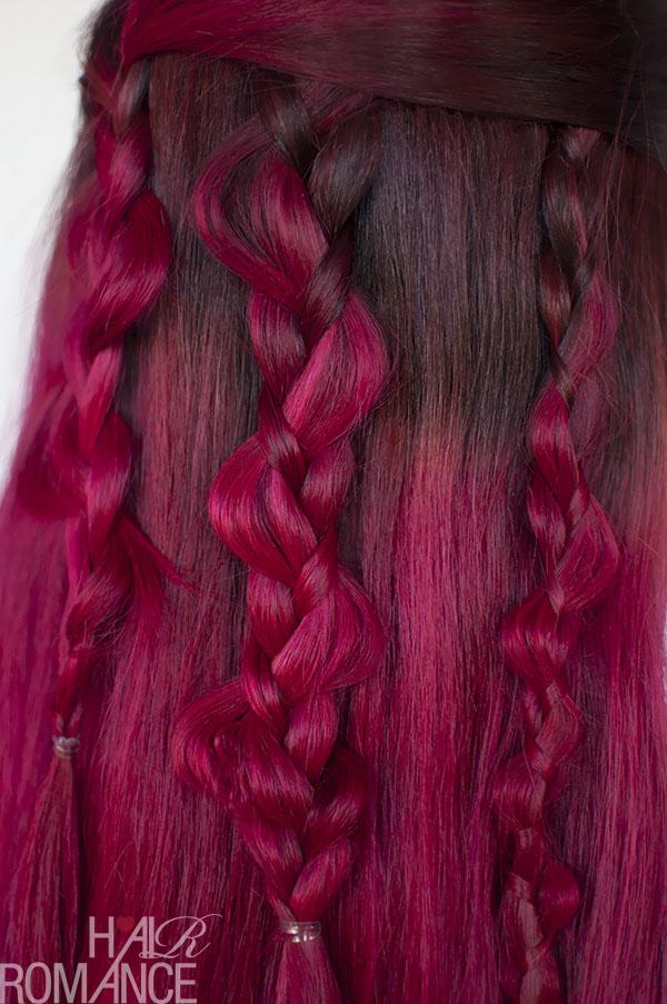 Hair Romance - boho braids tutorial