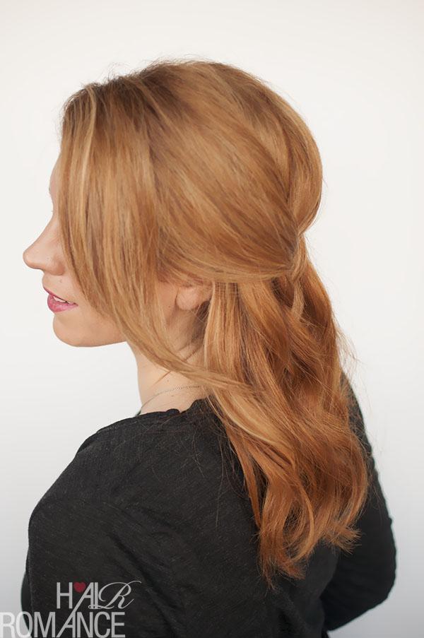 Hair Romance - halfup braid hairstyle tutorial