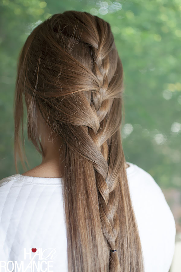 Swept Away Try This Sweeping Half French Braid Tutorial