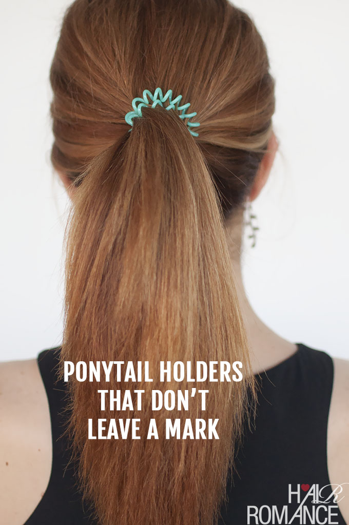 How to avoid the ponytail dent - Hair Romance