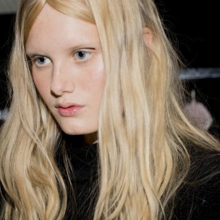 Big Hair Friday – braided parts at Giamba MFW