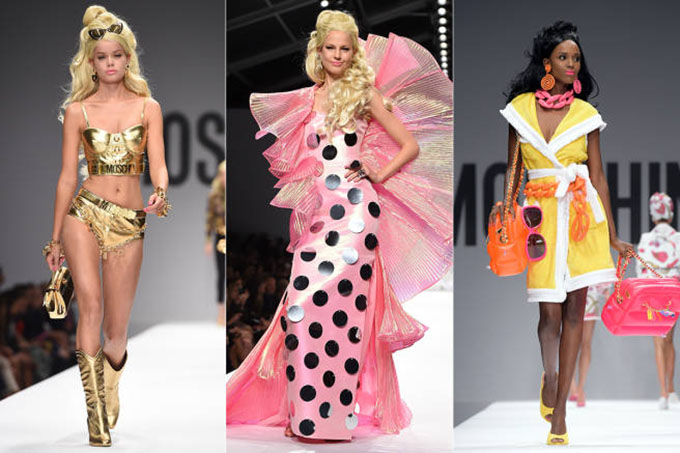 Barbie inspired Moschino collection 2