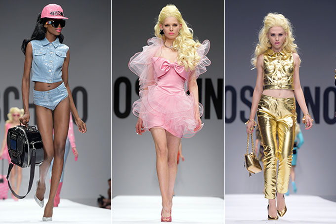 Barbie inspired Moschino collection