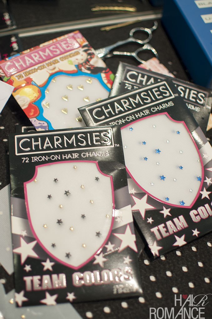 Bedazzled hair - how to add Charmsies accessories to your hair