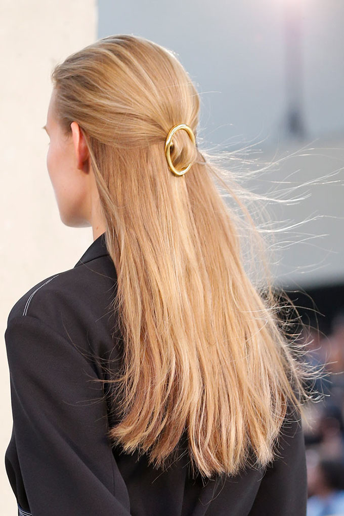 Hair accessories at Celine SS15