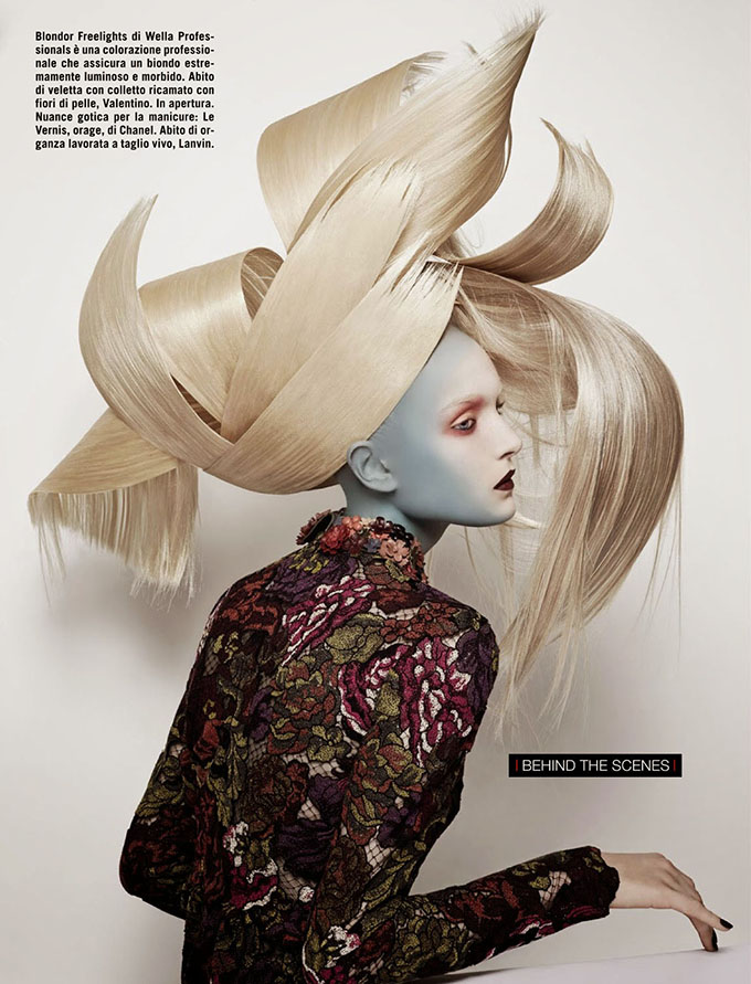 Come on Vogue - Amazing big hair