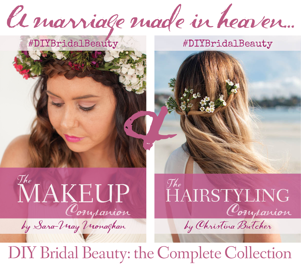 DIY Bridal Beauty book covers