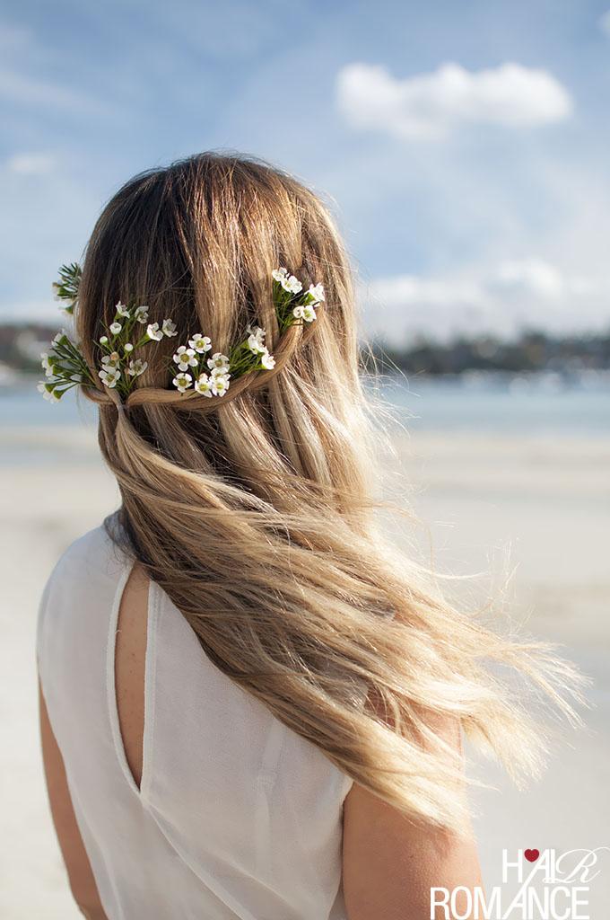 Hair Romance - DIY Bridal Beauty - Natural beach beauty