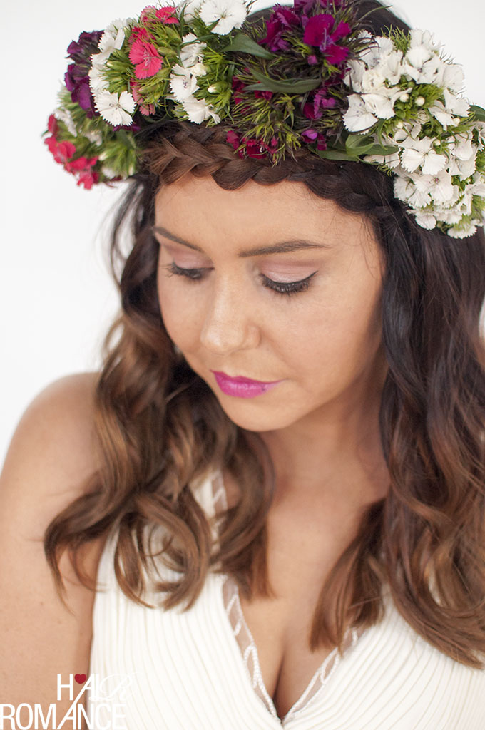 Hair Romance - DIY Bridal Beauty - braids & flower crowns