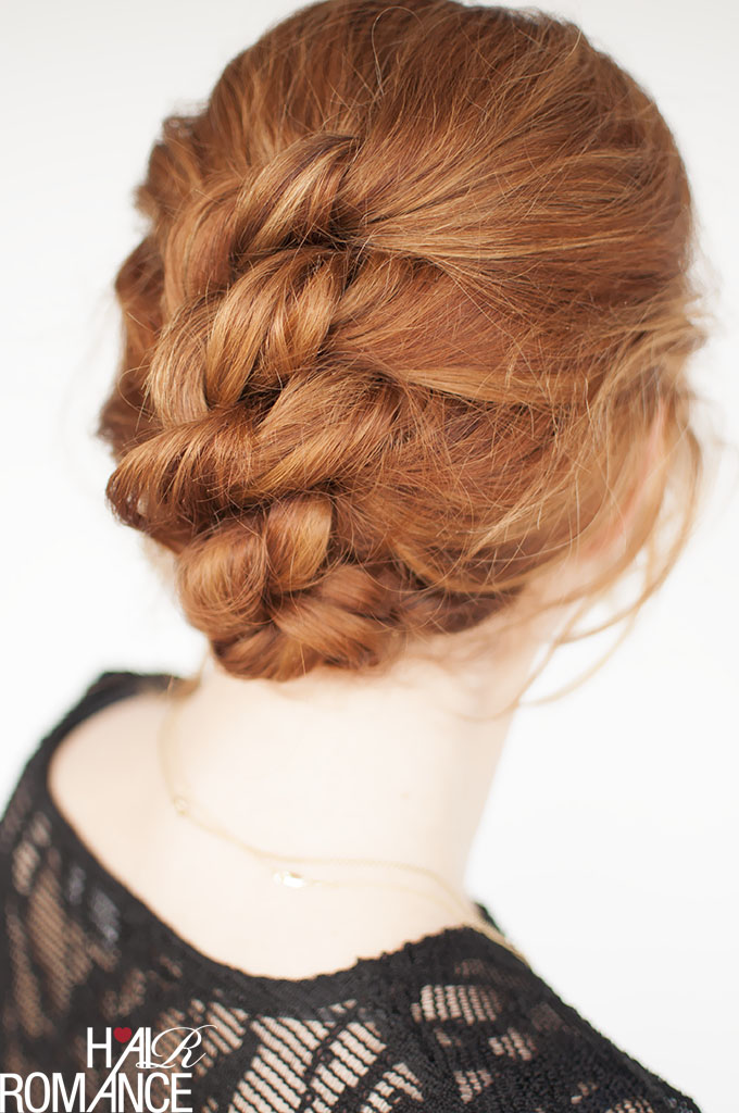 Hair Romance - Easy knotted updo hair tutorial
