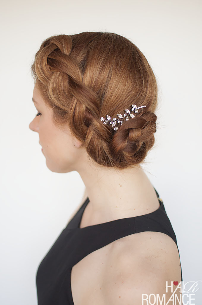 Hair Romance - Formal braided updo hair tutorial
