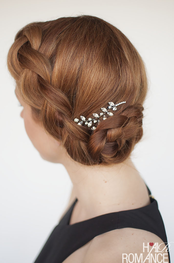 Try This Diy Braided Updo For Your Next Formal Event Or
