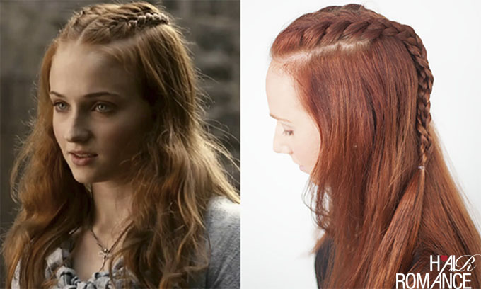 Hair Romance - Game of Thrones Hairstyle Tutorials - Sansa Stark