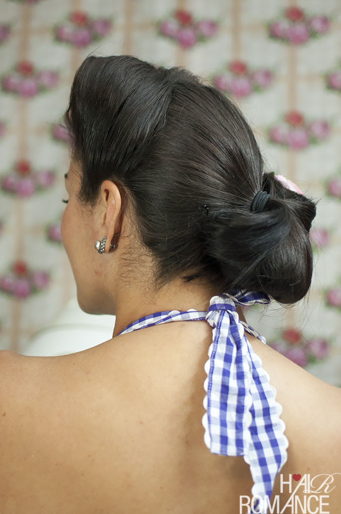 Hair Romance - Vintage hairstyle tutorials with Miss Pixie - the Fan Bun