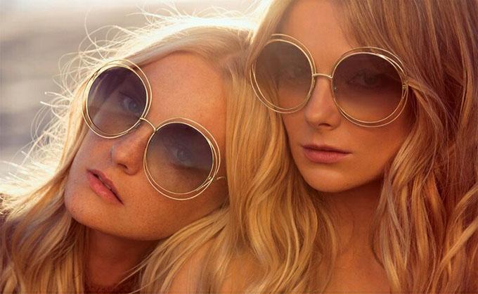 Chloe campaign - big summer hair