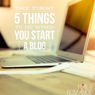 Beauty Blog School – The first five things to do when you start a blog