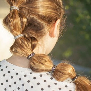 Back to school hairstyles – The braided bubble ponytail tutorial