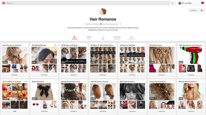 Hair Romance on Pinterest