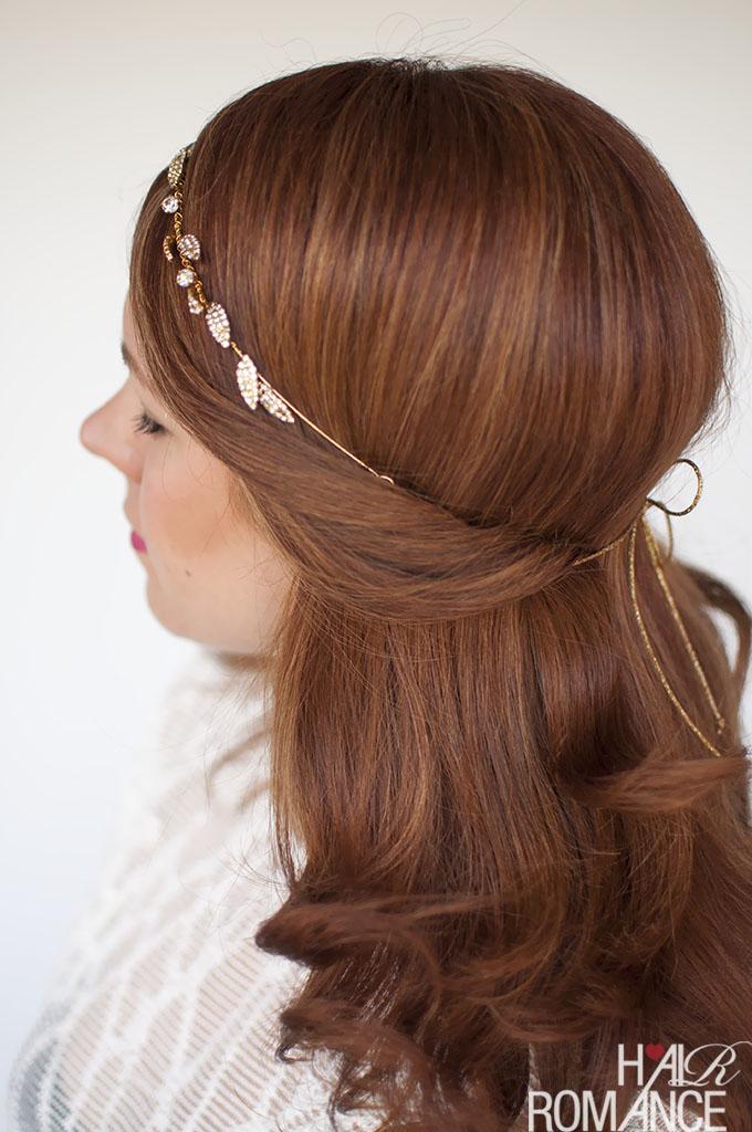 Hair Romance - wedding hair idea - 1 headband 3 ways