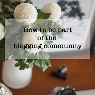 Beauty Blog School – How to be part of the blogging community