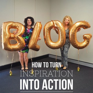 How to turn inspiration into action – Beauty Blog School