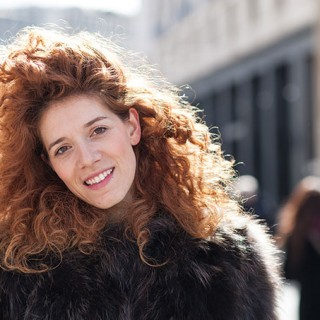 You'll love this street-style curly hair from Milan Fashion Week