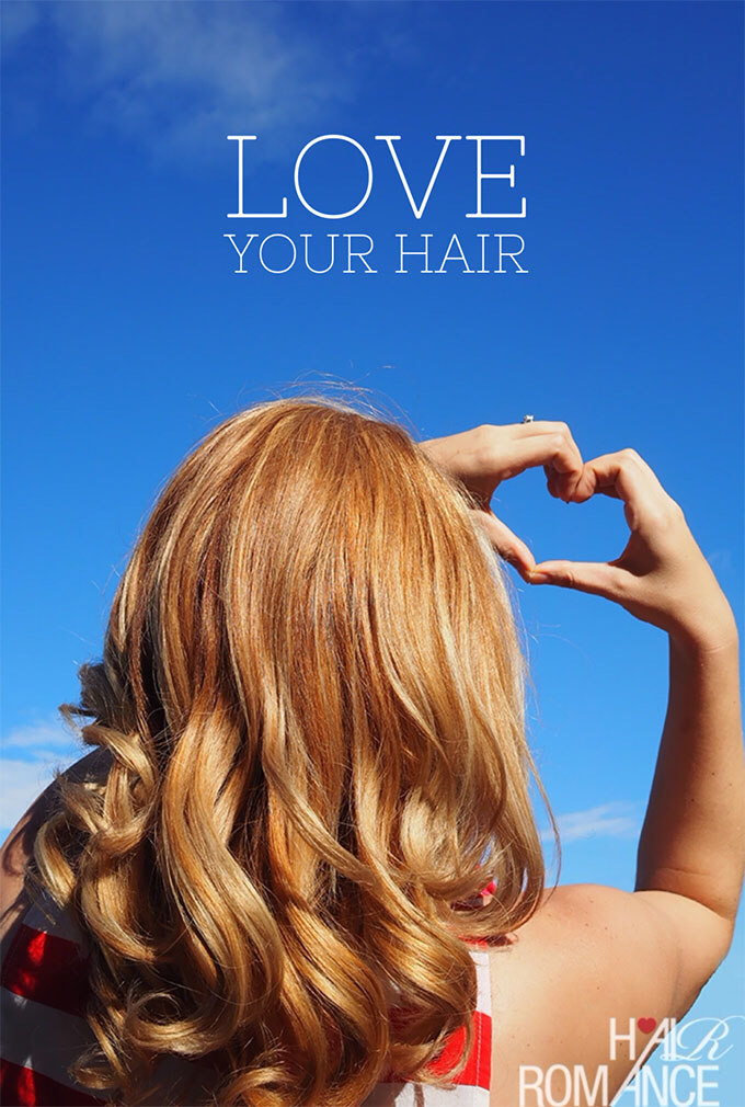 Hair Romance - Hair Happiness Challenge - Love your hair