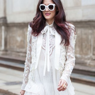 Street style hair inspiration – Pink highlights
