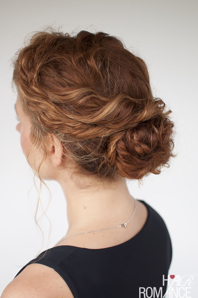 The Best Curly Hairstyle Tutorials For Frizzy Hair Hair Romance