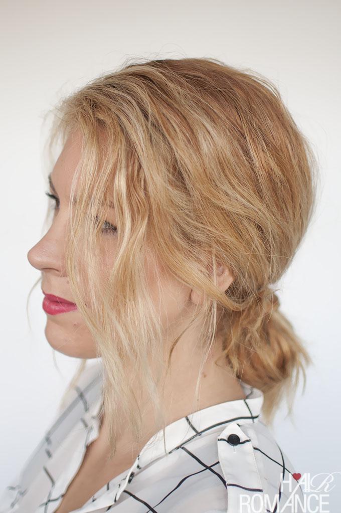 Hair Romance - Fashion Week Braids - hidden braid tutorial 4