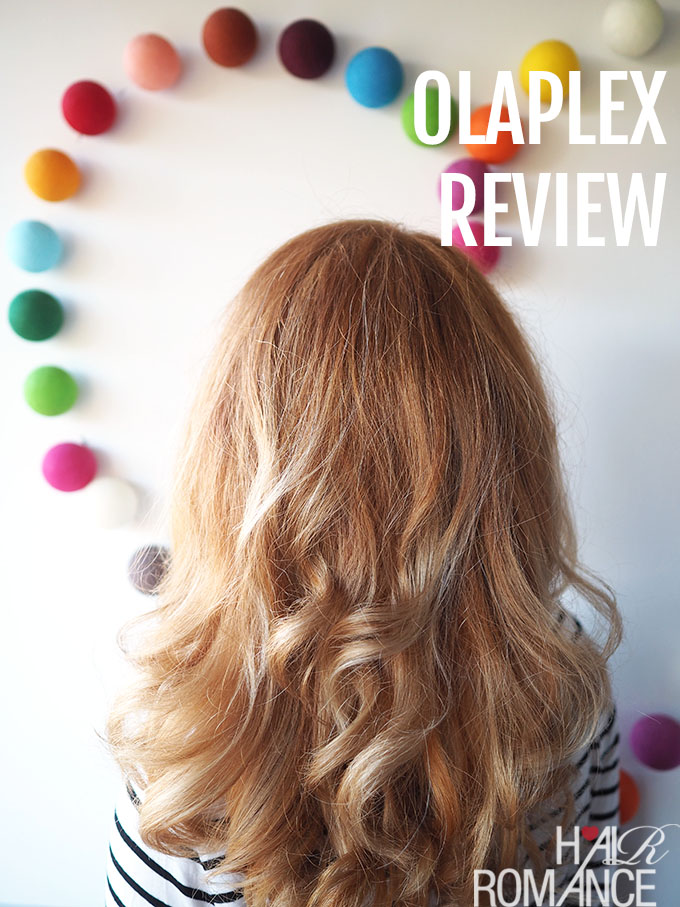 Hair Romance - Olaplex review