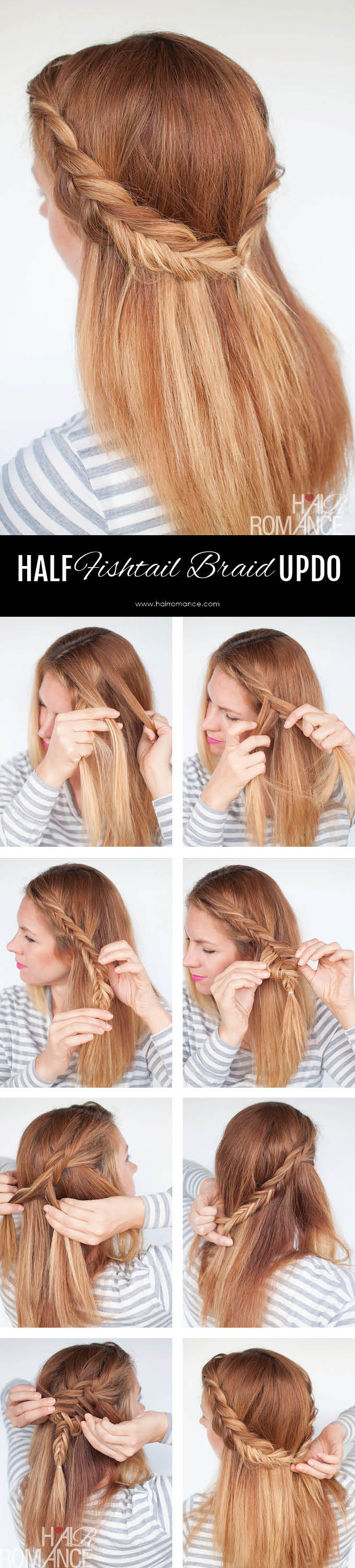 The fishtail plait: step-by-step instructions and all the inspo.