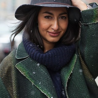 Street Style Hair – keep your hat on