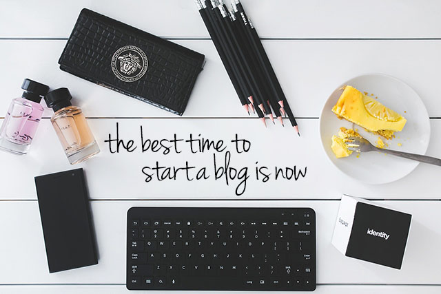 Adelady - start a blog now