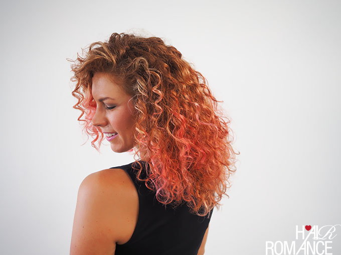 Hair Romance - Behind the scenes - DIY hair colour video