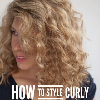 Reader Question – How to style curly bangs / fringes