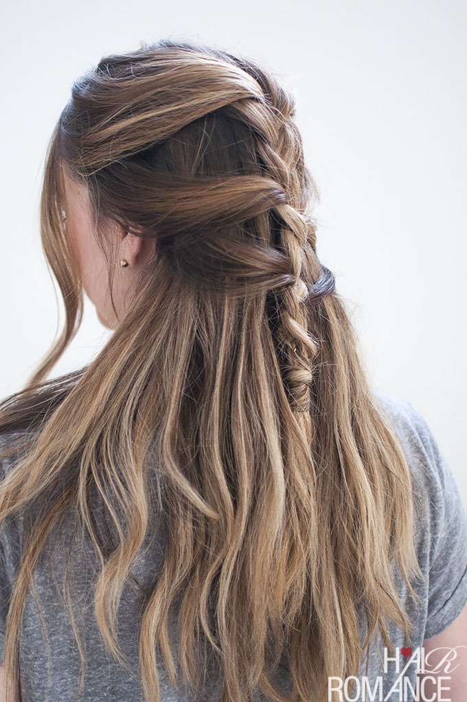 Hair Romance - Loose French braid tutorial with Sonia Styling