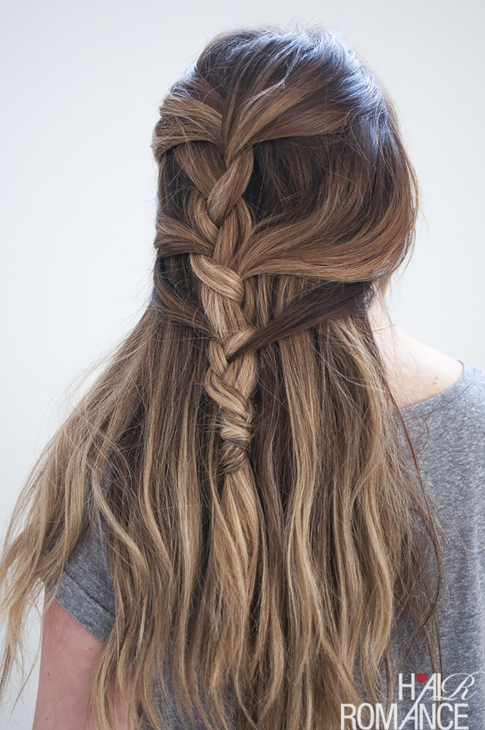 Loose French Braid Tutorial For Long Hair Hair Romance