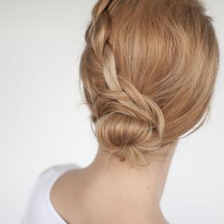 Upskill your work bun with this simple braid tutorial