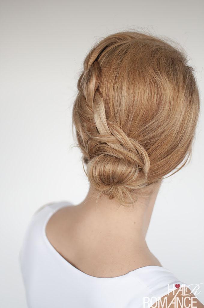 Enjoyable Upskill Your Work Bun With This Simple Braid Tutorial Hair Romance Schematic Wiring Diagrams Phreekkolirunnerswayorg