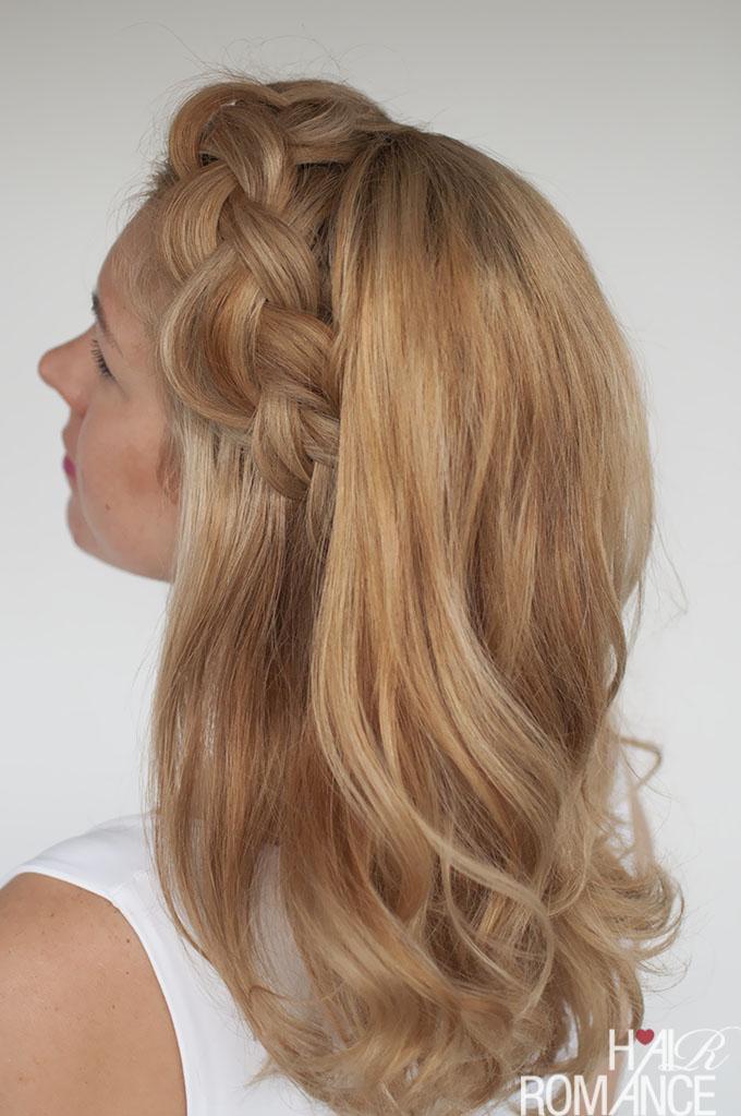 Hair Romance - big Dutch braid tutorial