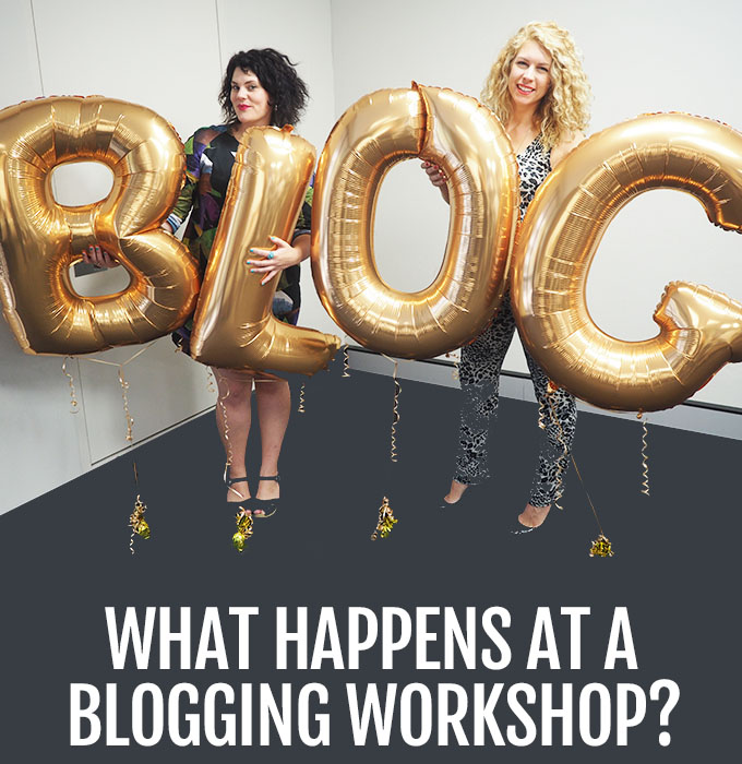 What happens at blogging workshops - Little Blog Big Australian bloggers