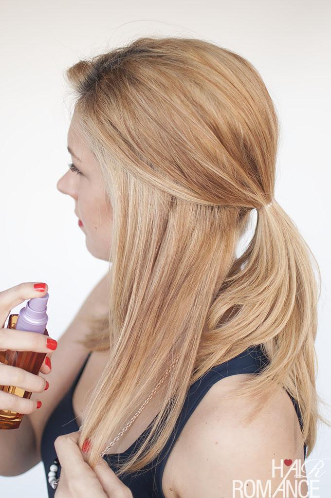 Hair Romance - 11 ways to use hair oils 3