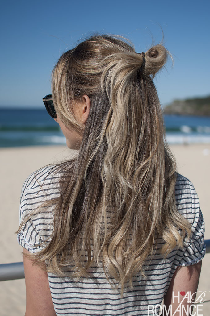 Hair Romance - Half top knot hairstyle inspirations 01